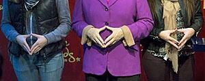 Merkel hands