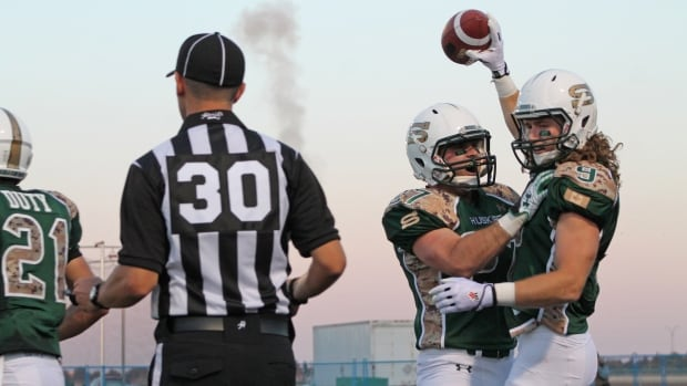 University of Saskatchewan Huskies receiver Mitch Stevens caught three touchdowns last time his team played at home.