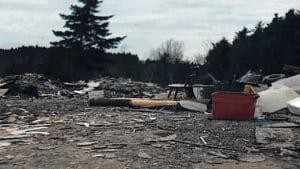 Saint John illegal dump Worden Dr.