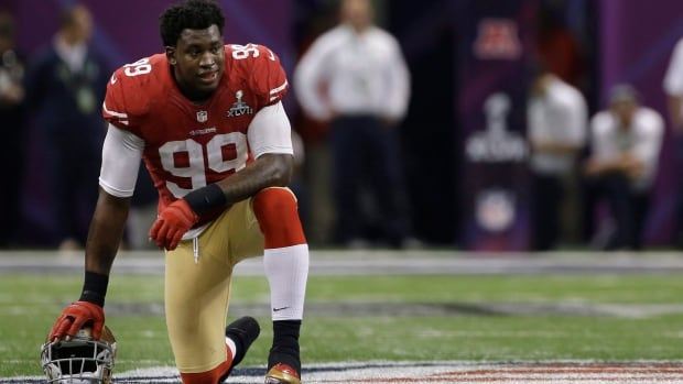 San Francisco 49ers linebacker Aldon Smith was arrested in San Jose. (Mark Humphrey/Associated)
