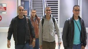 Morrocan-born truckers arrive at Saskatoon airport