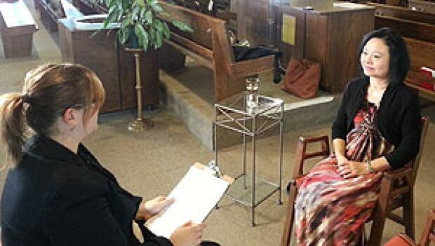 Kim Phuc sits down with CBC