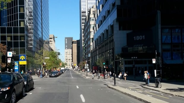 Traffic on some Montreal streets was non-existent on Friday, thanks to Car-Free Day.