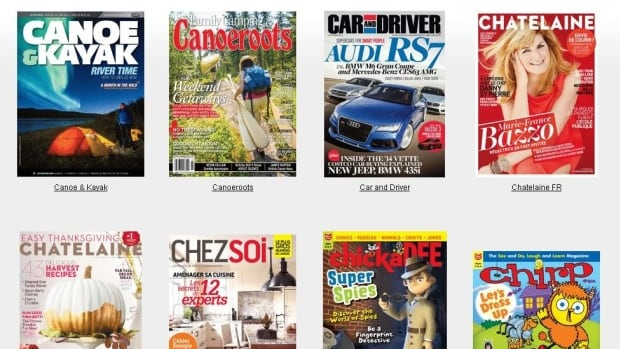 The Toronto Public Library is now offering more than 300 digital magazine titles to anyone with a library card.