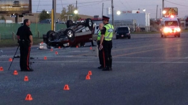 A young girl has been killed in a collision in Calgary's southeast.