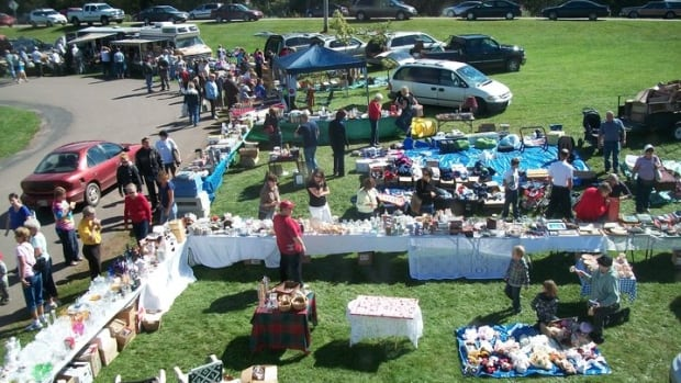 The 70-Mile Coastal Yard Sale stretches from Kilmuir to Wood Islands and Orwell to Beach Point.