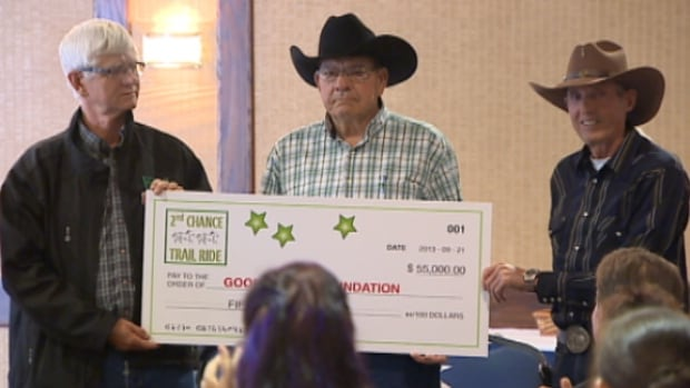 Riders from the 2nd Chance Trail Ride raised $55,000 to build and furnish an apartment suite to benefit organ transplant patients and their families at the University of Alberta.