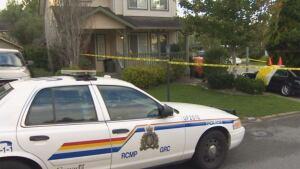Chilliwack crime scene - Promontory home