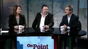 Siobhan Coady, John Riche and Shawn Skinner