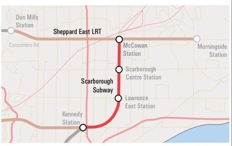 Ottawa Subway Map.Toronto Subway Extension To Get 660m From Ottawa Cbc News