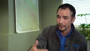 Chief Brian Ladue of Ross River Dena Council