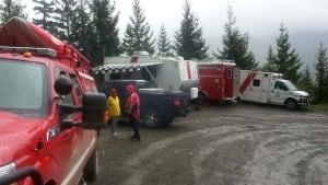 Mount Arrowsmith rescue