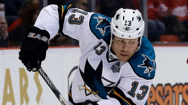 San Jose Sharks winger Raffi Torres signed a three-year, $6 million US deal with the club in June.