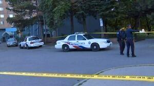 Crime scene at 285 Shuter Street