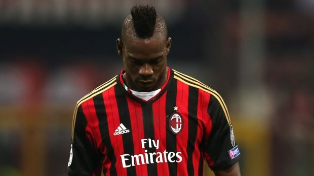 AC Milan's Mario Balotelli will miss the games against Bologna, Sampdoria and Juventus.