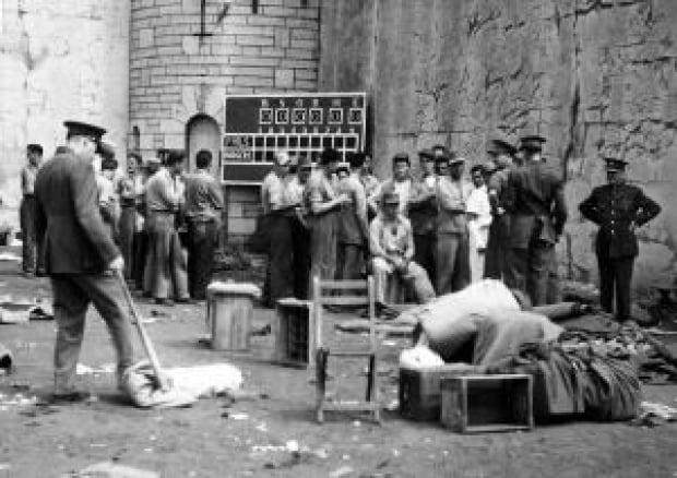 Kingston Pen 1954 prison riot