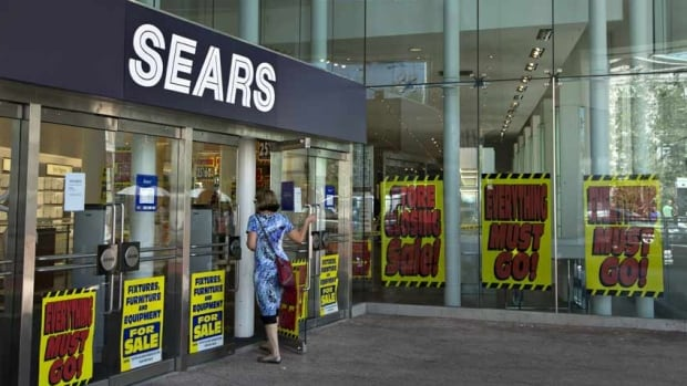 Sears is facing increasing competition from large discount retailers like Wal-Mart and Target and is struggling to keep up. It has laid off several hundred workers and announced it is pulling out of three Toronto malls this past year.