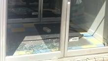 Broken daycare window