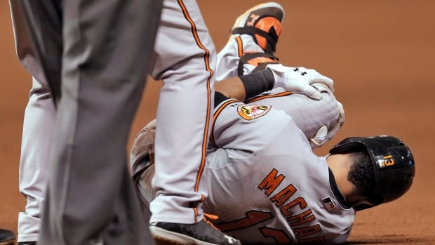 Baltimore Orioles third baseman Manny Machado was batting .283 with 14 homers, 71 RBIs and 51 doubles this season.
