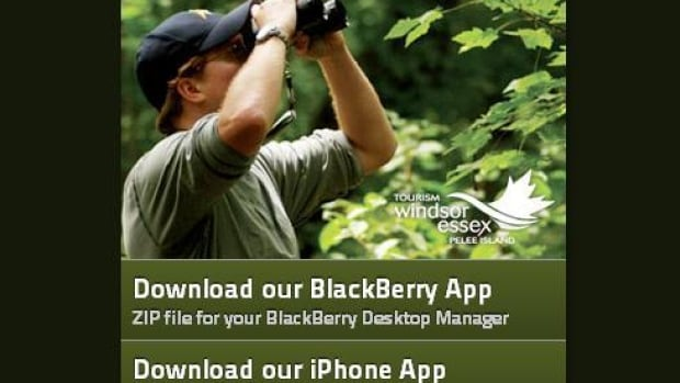 Tourism Windsor Essex Pelee Island paid a Toronto company approximately $20,000 to develop their new app.