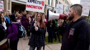 mru education cut rally