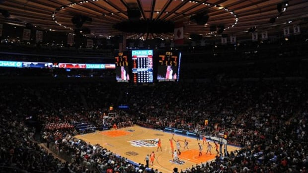 The 2015 NBA All-Star Game will be played at Madison Square Garden (shown here) and the slam dunk contest and other skills events held at the Barclays Center in Brooklyn. The league last split sites for its midseason showcase in 2010.