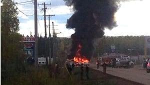 Fort Nelson plane crash