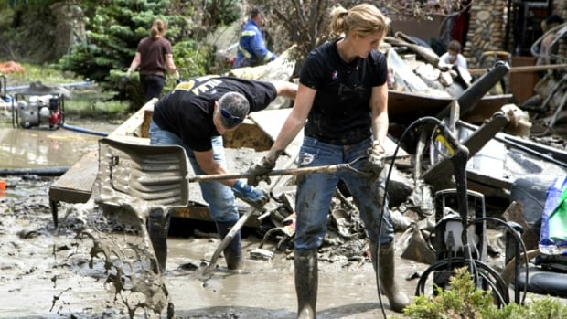 Flooding across Alberta in 2013 cost roughly $5 billion in damages.