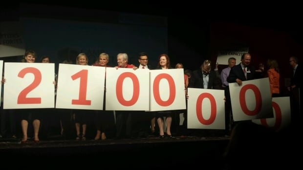 United Way Ottawa hopes to raise $21 million during its 2013-14 fundraising campaign. (September 26, 2013)