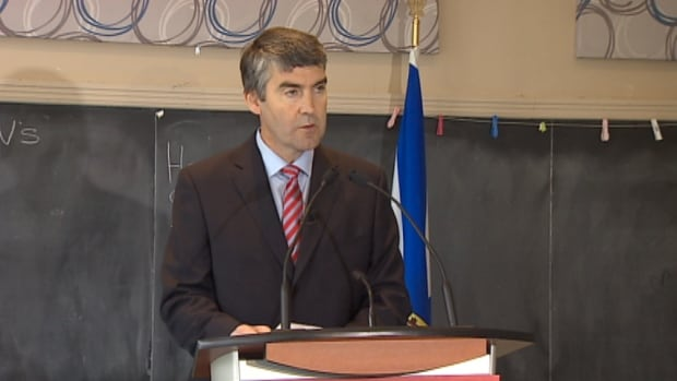 Liberal Leader Stephen McNeil promises targeted school funding if elected.