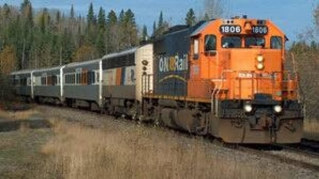 Four cars from an Ontario Northland freight train came off the tracks and went into the nearby White Clay River, north of Kirkland Lake.