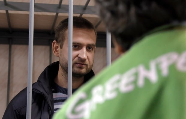 Greenpeace activists detained
