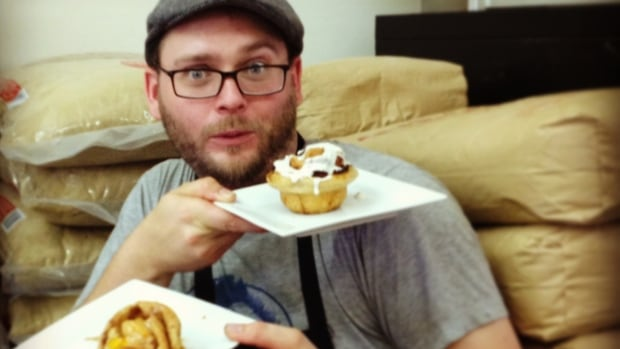 John McPhail of Jonnies Sticky Buns is making a commitment to baking with Fair Trade ingredients.