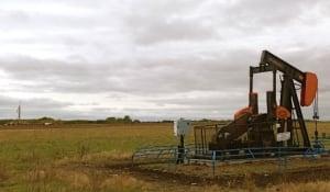 Drilling activity near Rocanville, SK