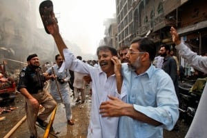Pakistan, Peshawar bomb
