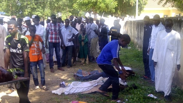 Suspected Islamic extremists attacked the Yobe State College of Agriculture early Sunday, gunning down as many as 50 students as they slept in dormitories and torching classrooms, according to college Provost Molima Idi Mato.