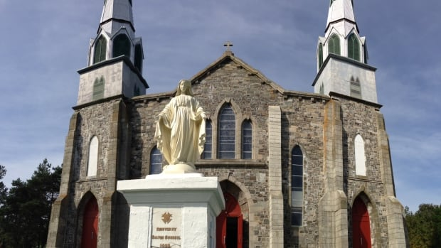 Immaculate Conception church in Harbour Grace was built in 1892 and is a registered heritage structure.