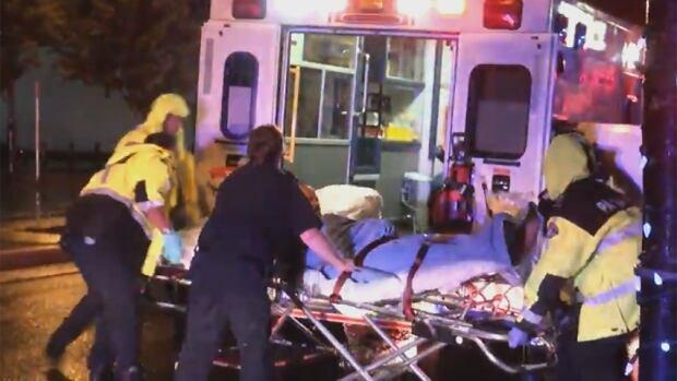 Haney Public House - ambulance