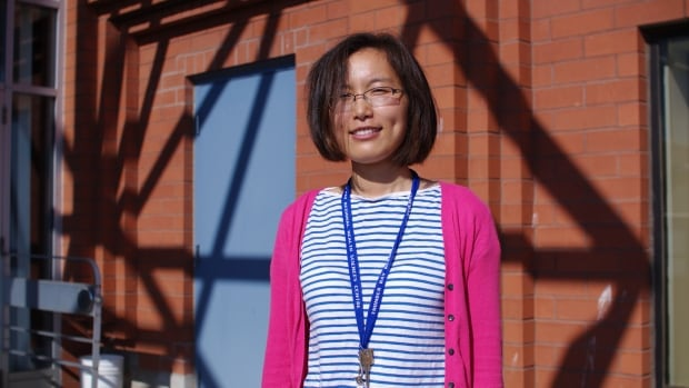 Pei Pei Wang moved to Canada from China four years ago to study at Lakehead University in Thunder Bay. She said it's hard to live away from the things and people she knows.