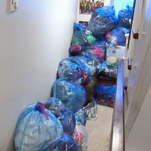 Bedbugs bags of clothes St. John's rowhouse CBC