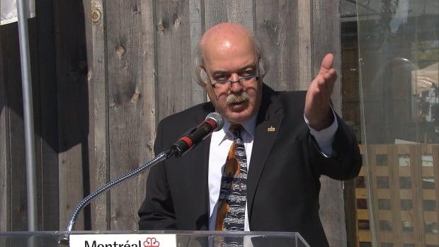 Laurent Blanchard has served as Montreal's interim mayor since June 2013.
