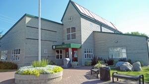 Red Lake municipal office