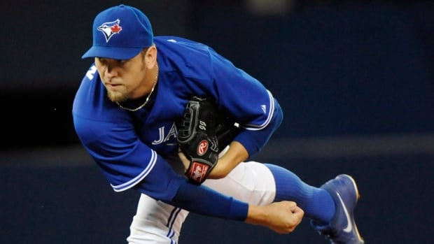 Toronto Blue Jays right-hander Josh Johnson had a 2-8 record and 6.20 earned-run average over 16 appearances this year.