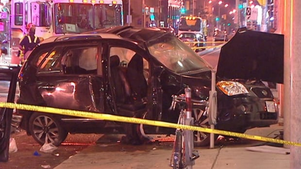 Two vehicles collided on Laurier Avenue West near Bank Street on Oct. 2, 2013, killing 54-year-old Alain Seguin.