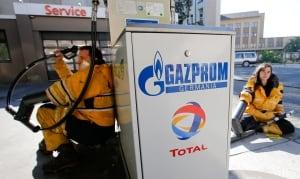 Gazprom protest
