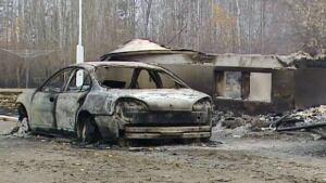 Homes burned