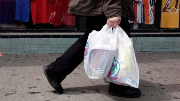 Five municipalities in Canada have banned single-use plastic bags.