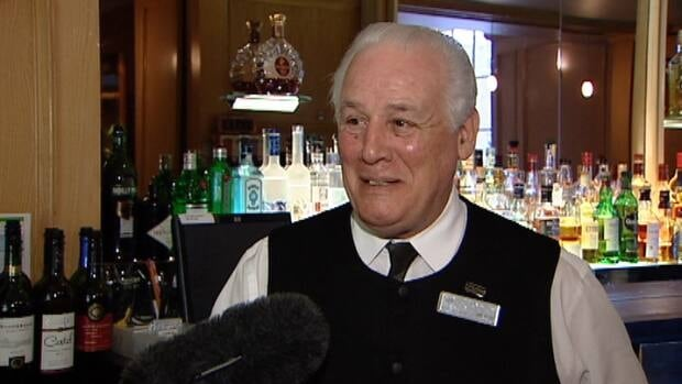 Roy Clorey began pouring drinks at the Griffin lounge at Halifax's Nova Scotian Hotel in 1963.