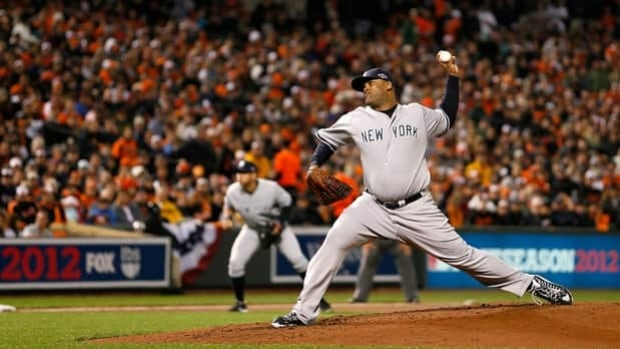 Yankees pitcher CC Sabathia is 2-0 with a 1.53 ERA and 17 strikeouts in 16.2 post-season innings.