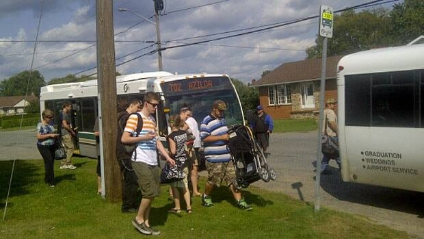 New riders are being seen on all bus routes in Greater Sudbury, including those that run to outlying areas like Lively and Coniston.